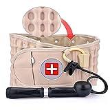 XTT Decompression Back Belt for Lower Back Pain Relief Back Support Lumbar Traction Belt Protector de la Cintura Dolor de la Correa Soporte Lumbar Inferior