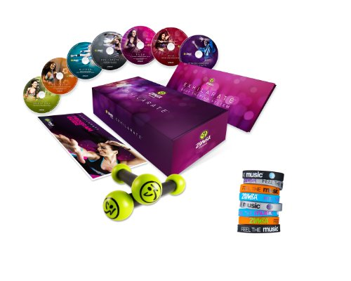 Zumba Fitness® Exhilarate Premium 7 DVDs inkl. 8 Armbänder