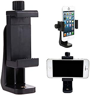 SKEIDO Tripod Mount/Cell Phone Clipper Vertical Bracket Smartphone Clip Holder 360 Adapter For Mobile Cell Phone