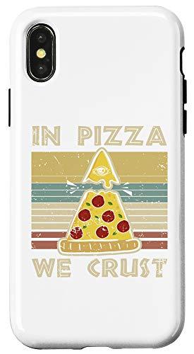 iPhone X/XS In Pizza We Crust gift Trust Illuminati Eye gift Case