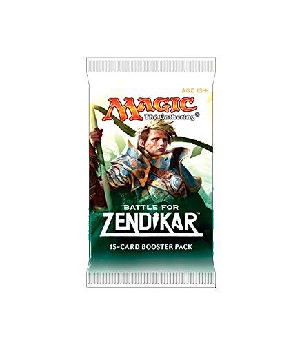Sobre de 15 Cartas de La Batalla Por Zendikar - Magic The Gathering - Devir 72502