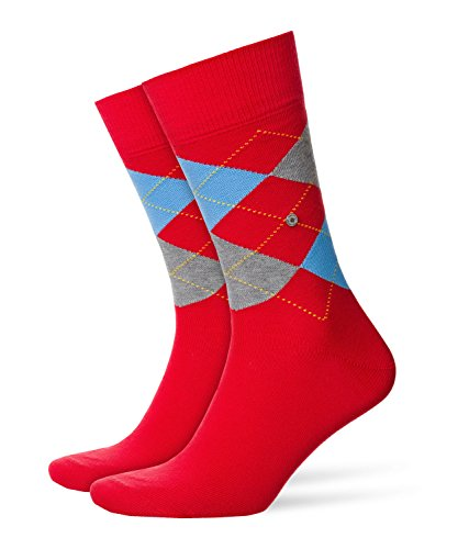 Burlington Herren King M SO Socken,Rot (Lipstick 8000), 40-46