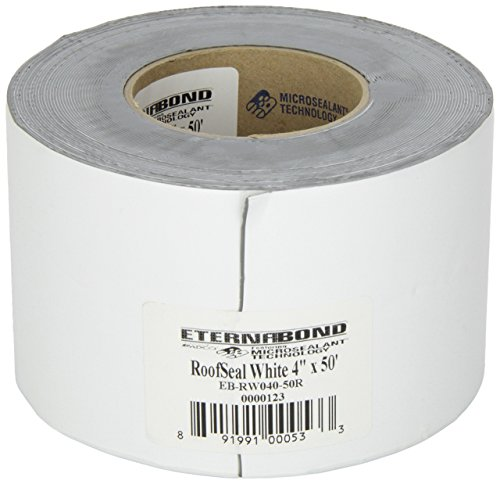 EternaBond RSW-4-50 RoofSeal Sealant Tape, White-4' x 50'