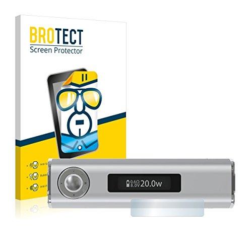 2X BROTECT HD Clear Displayschutz Schutzfolie für Joyetech eGrip OLED-CL (kristallklar, extrem Kratzfest, schmutzabweisend)