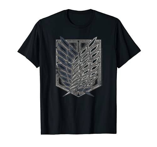 Attack on Titan Season 2 Distressed Scout Symbol T-shirt T-Shirt