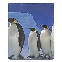 ゲーム用マウスパッド テーブルマット 厚さ3mmのゴム製 滑り止め ラップトップ 皇帝ペンギン