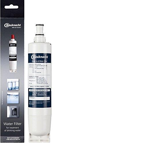 Bauknecht SBS103 Wasserfilterpatrone für Bauknecht Side-by-Side Kühlschrank, 6 cm