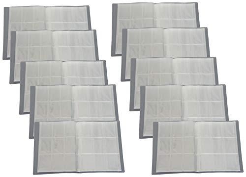 Carpeta en blanco con 24 páginas (432 tarjetas), ideal para coleccionistas imágenes/tarjetas (10)