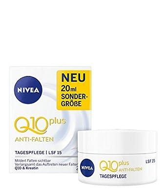 Nivea Q10 Plus Anti-Wrinkle Day Cream Face Care SPF 15 20 ml by NIVEA