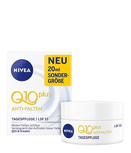 NIVEA Q10 Plus Soin de jour anti-rides, soin du visage, SPF 15, 20 ml