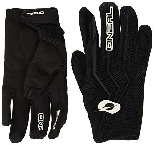 O'NEAL | Fahrrad- & Motocross-Handschuhe | MX MTB Mountainbike Enduro Motorrad | Sichere Passform, Ergonomische Polsterung, TPR-Streifen | Element Glove | Erwachsene | Schwarz | Größe M