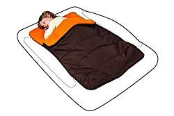 shrunks toddler travel bed accessory perfect for camping attachable sleeping bag