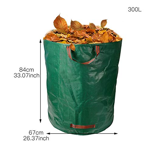 Review Of AloPW Yard Waste Bags 132 Gallons Garden Bag Reusable Vegetable Gardening Bags Garden Leaf...
