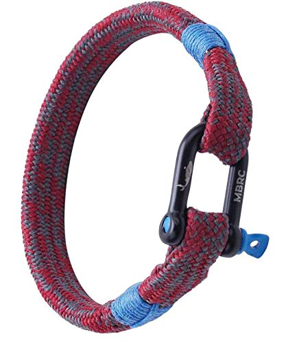 MBRC Humpback – robuuste armband in maritieme look – surferarmband – touwarmband gemaakt van 100% gerecycled plastic