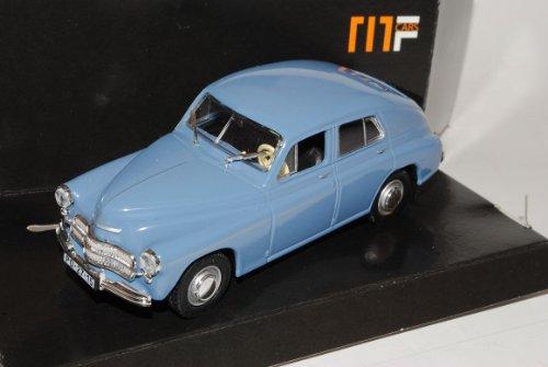 Warszawa M-20 Limousine Blau 1//43 Modellcarsonline Modell Auto mit individiuellem Wunschkennzeichen