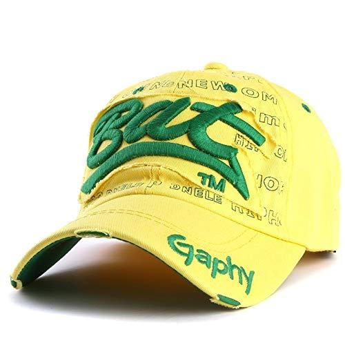 WAZHX Sombreros Gorra De Béisbol Sombreros Hip Hop Ajustados Sombreros Baratos para Hombres Mujeres Gorras Sombreros De ala Curva Gorra De Daño OneSize 7