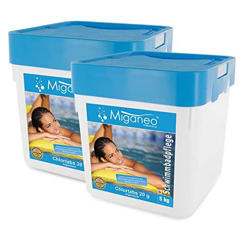 Miganeo® Chlortabs 20 g Poolchemie organisch, schnelllöslich (10 kg)