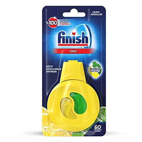 Finish Calgonit - Désodorisant Lave-Vaisselle - Citron - 5 m