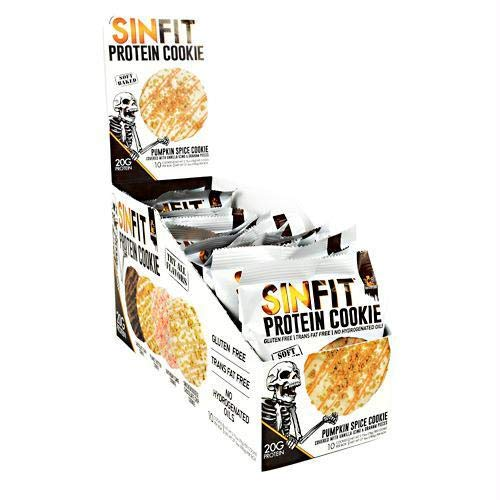 Sinister Labs Sinfit Cookie 10x78g Pumpkin Spice