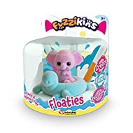 Colour and customise this adorable fuzzy baby elephant and turtle floaty! Float them in water, let them splash about and have fun - a great bath toy! With 3 washable pens you can rinse and recolour with new designs! Fuzzikins Floaties encourage creat...