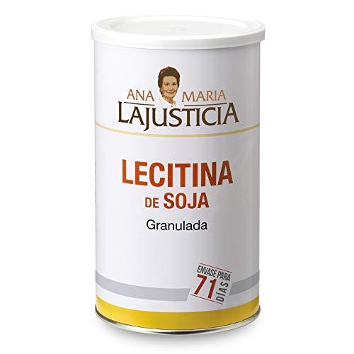 Ana Maria Lajusticia - Lecitina de soja – 500 gramos – no gmo. Reduce...