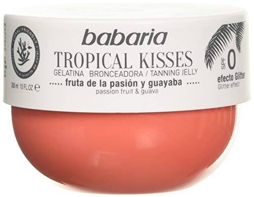 BABARIA Unisex Tropical Kisses BRONCEADORA FRUTA DE LA Pasion Tropische KÜSSE GELATINA Tanner Frucht DER Leidenschaft 300ML, Negro, Nur