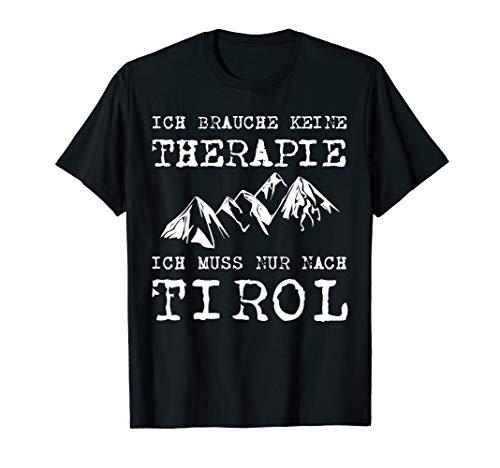 Tirol Urlaubs Shirt, Tiroler Berge T-Shirt, Wander Urlaub T-Shirt