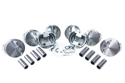 5.7 Rod 4.030 bore 383 Stroker Engine Wiseco Flattop Forged Race Pistons set of 8