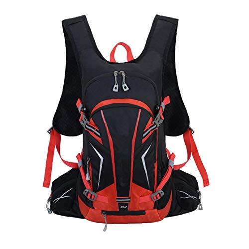 XKJFZ Paquete de hidratación de Agua Mochila Durable para Running Ciclismo Ciclismo Senderismo Escalada Esquí de Caza Bolsa roja 1pc Invierno Suministros Calientes