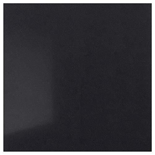 RÅHULT specialgjord väggpanel 1 m²x1,2 cm svart steneffekt/kvarts