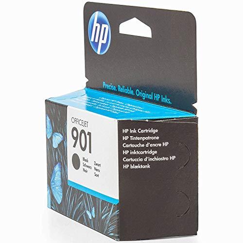 HP Original CC653AE / 901, für OfficeJet J 4660 Premium Drucker-Patrone, Schwarz, 200 Seiten, 4 ml