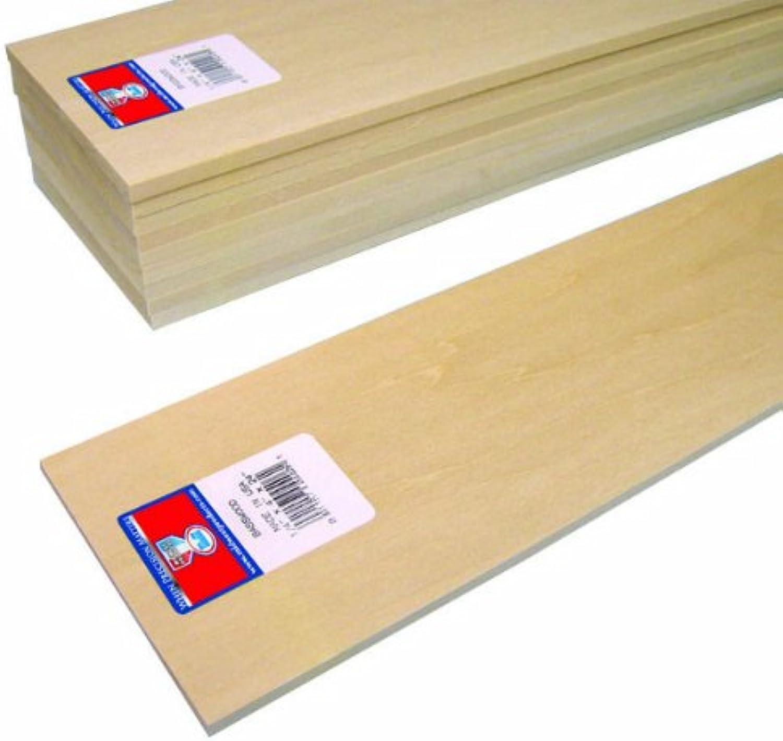 estilo clásico Midwest Productos 4406 Listones de Calidad Tilo, Hoja Paquete, Paquete, Paquete, 0,25x 4x 24cm  de moda