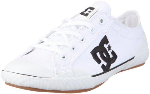 DC Shoes Chelsea Z Low Women Shoe D0302649, Damen, Sneaker, Weiss (WBKD White/Black), EU 42 (UK 8) (US 10)
