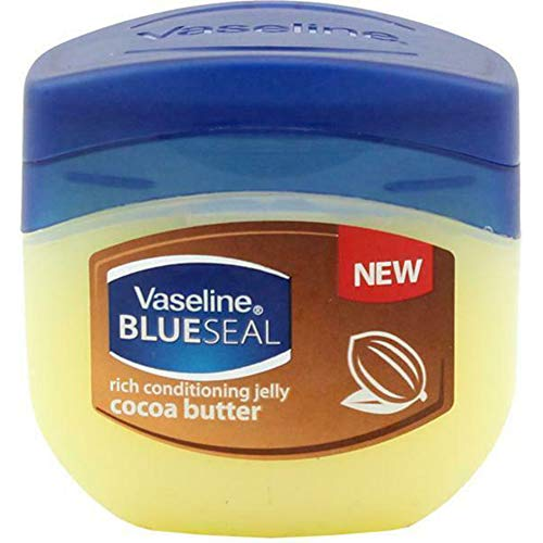 Vaseline Blue Seal Rich Masques de Jelly Beurre de Cacao New 100 ml