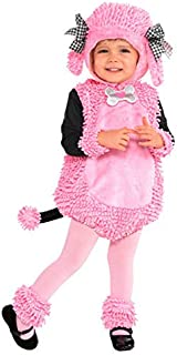 amscan Poodle Pup Party Costume - 12-24 Months