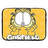Maletín para portátil The Garfield Show Laptop Bag 15 Inch Sleeve Case Neoprene Protective Case/Notebook Computer Pocket Case/Tablet Briefcase Carrying Bag Compatible/Soft Carrying Zipper Bag
