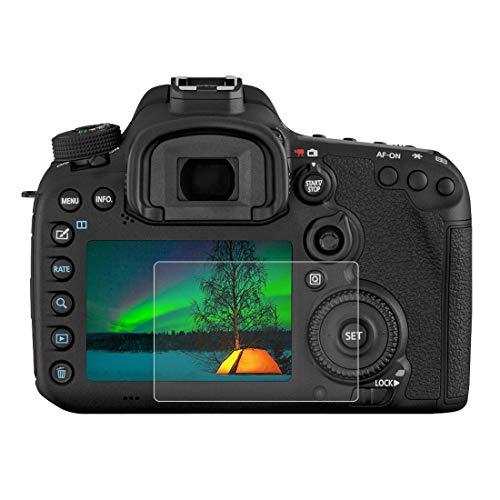 Gehärtetem Glas Displayschutzfolie für Canon EOS 7D Mark II, 0,3 mm ultraklare LCD-Schutzfolien mit 9H Härte, Anti-scrach, Blasenfreie, Anti Fingerprint (7D Mark II)