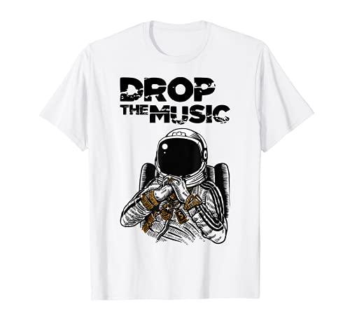 Música espacial I Planetas espaciales Galaxy Space Marte Camiseta