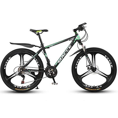 PBTRM Bicicleta Montaña 26 Pulgadas, Bicicleta MTB 27 Velocidades, Cola Rígida, Freno Disco, para Hombres Y Mujeres, Bicicletas para Estudiantes Adultos