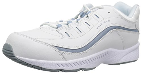 Easy Spirit Romy Womens Walking Shoes WHITE/BLUE 8 C/D US