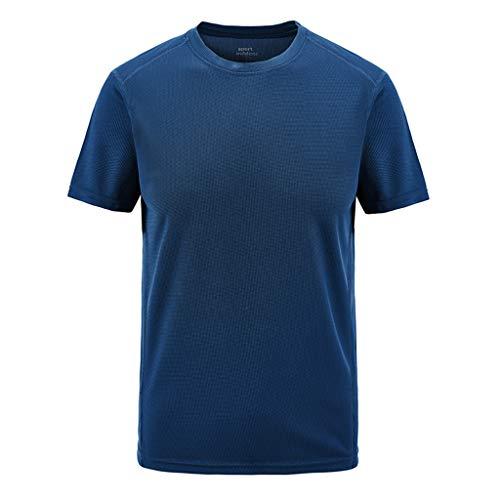 BOLANQ Shirt Glitzer Baseball Deutschland Sport bauchfreie grün wickelshirt blusenshirts Blumen blusen Damen (XXXXXX-Large,Marine)