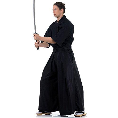 Princess of Asia Kendo Gi Kimono & Hakama Hose Laido Outfit (Schwarz & Schwarz)
