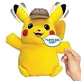 Pokémon Detective Pikachu Movie Interactive Talking Plush -...