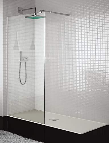 Duschkabine vorne 1 Glas fest 10 mm Sicherheitsglas Modell 300 ONE