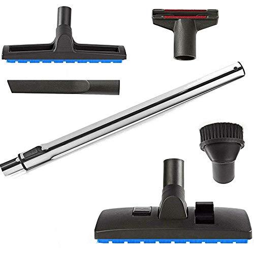 Maxorado XXL - Juego de accesorios para aspiradora 32 mm compatible con boquillas de repuesto para De Longhi THOMAS AntiAllergy AQUA+ BIOVAC 1620 C BRAVO 20 S COMPACT GENIUS S1 S2 T2 INOX 20 30 45 X7
