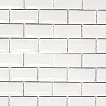 Mini Metro Subway mozaïektegels keramiek wit baksteen diamant voor vloer muur badkamer toilet douche keuken tegelspiegel b...
