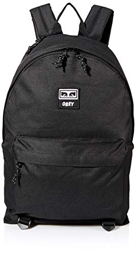 Obey Herren Takeover Day Pack Rucksäcke, schwarz, Einheitsgröße