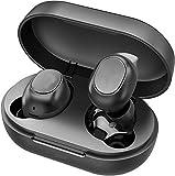 Auriculares inalámbricos Bluetooth S3-TWS Bluetooth 5.0 EDR, auriculares de sonido estéreo, mini gemelos manos libres con caja de carga y micrófono integrado