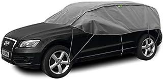 Abdeckplane Halbgarage Sonneschutz, Schneeschutz, UV Schutz, Winter & Sommer Größe SUV kompatibel mit BMW X1 F48
