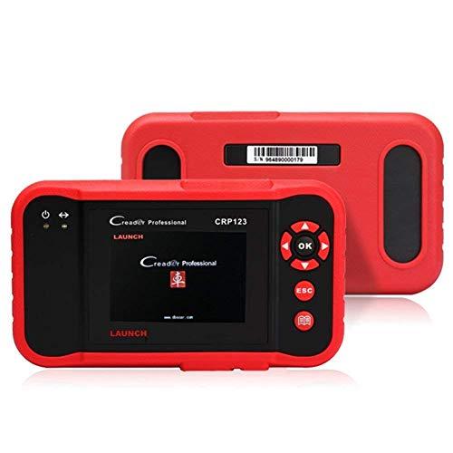 Launch Diagnosegerät Kfz OBDII Werkzeugediagnose ür ABS SRS Getriebe und Maschine OBD2 EOBD Code Scanner Tool, X431 CRP123